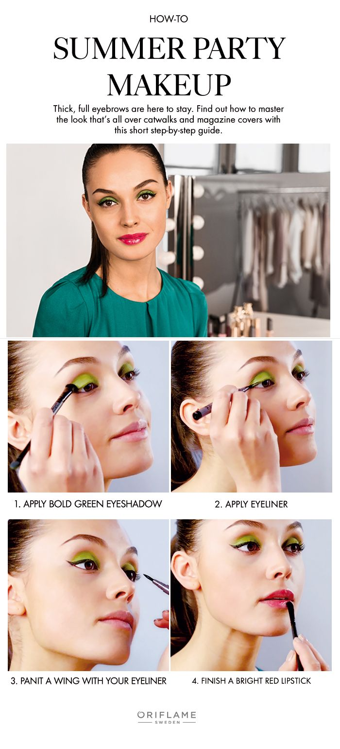 Try A Flirty And Colourful Look That's Perfect For Those Hot Summer  Nights#oriflame