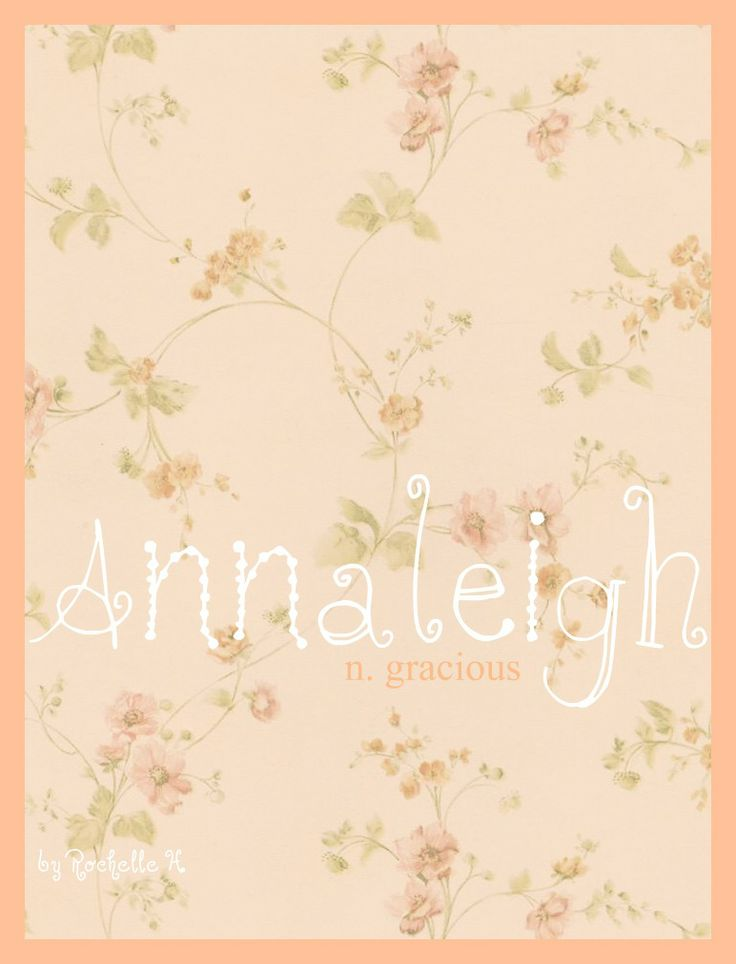 Best 25 hebrew names ideas on pinterest hebrew baby names baby girl name annaleigh meaning gracious origin a variant of the negle Images