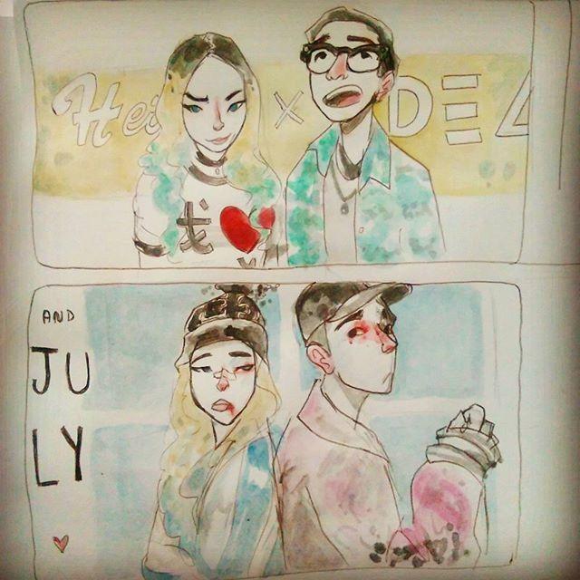 Los shipeo con locura #heize #dean #and #july #yg #andjuly #kpopfanart