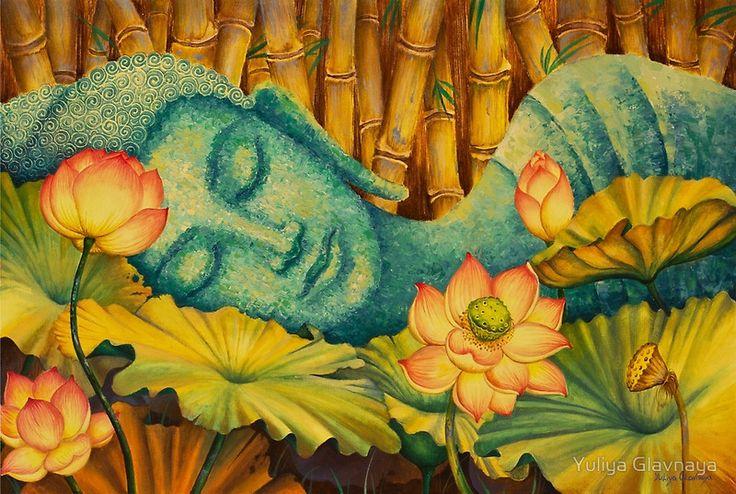 «Reclining Buddha» de Yuliya Glavnaya                                                                                                                                                                                 Más