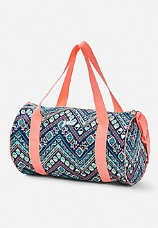 Gear Her Up For A Sleepover Or Gymnastics Class With Colorful Girls Duffel Bags Totes From Justice
