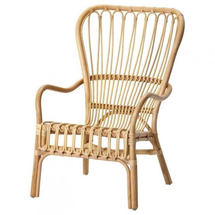 Best 25 rattan chairs ideas on pinterest rattan outdoor chairs rattan furniture and rattan - Ikea wicker lounge chair ...