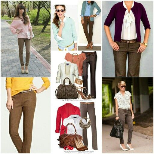 Wear brown pants cafe