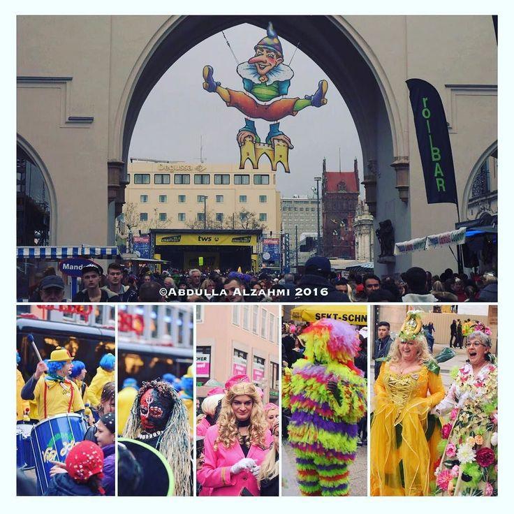 München during the #Fasching . #münchen in the eyes of  my lenses. . #nikkor . #emarati #emirates  #myuae #myfujairah #myuaq #myajman #mydubai #myrak #mysharjah #myabudhabi #theworld  #love #الحب #اللون_احمر سعدك_ياوطن #sa #saudiarabia #السعودية #instagram #WorldGoesPop #nikon #d7200 #nikon_photography_ #nikonphotography #iphone6 snow #winter #münchen #nikon_dslr_user #karnival2016 by a.z.360