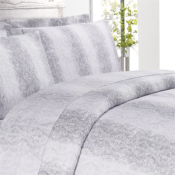 Echelon Home Kalahari Cotton Pillowcase Shams (Set of 2) - Free Shipping On Orders Over $45 - Overstock.com - 18137783 - Mobile