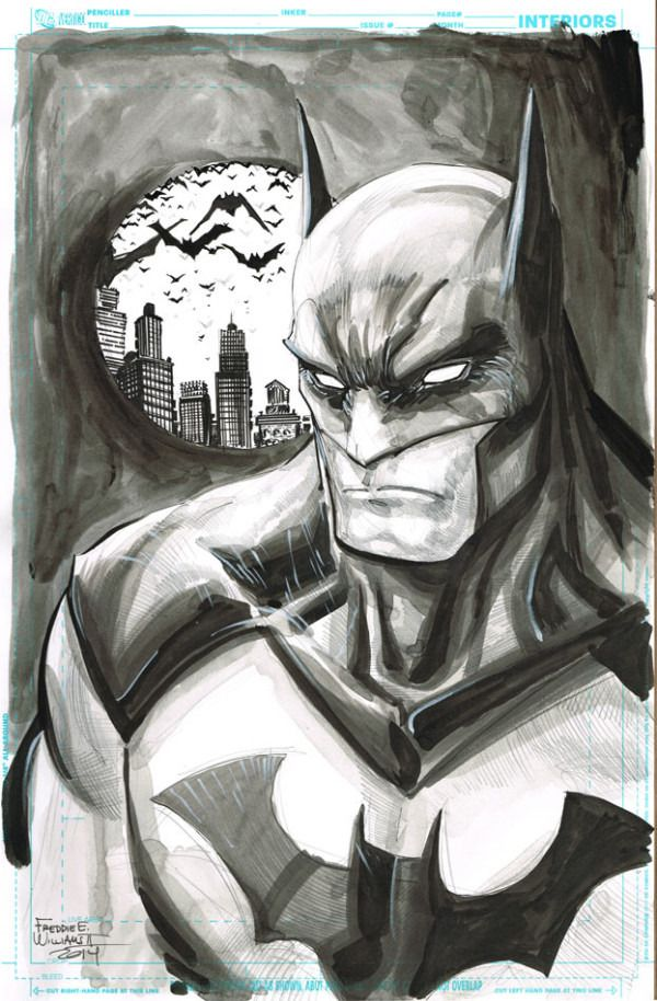 Batman by Freddie Williams