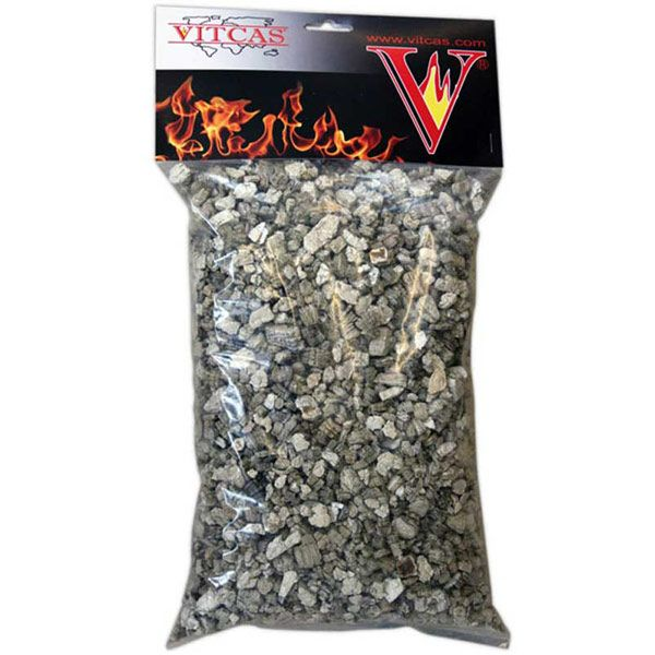 Vermiculite Gas EmberPack  Replacement Vermiculite Gas Ember Pack. Spread directly over the burner tray for improved energy efficiency. Resistant to 1100oC.  http://www.vitcas.com/vermiculite-heat-resistant-paints