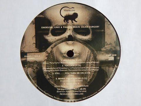 Emerson, Lake & Palmer - Brain Salad Surgery (1973 vinyl rip / full album)