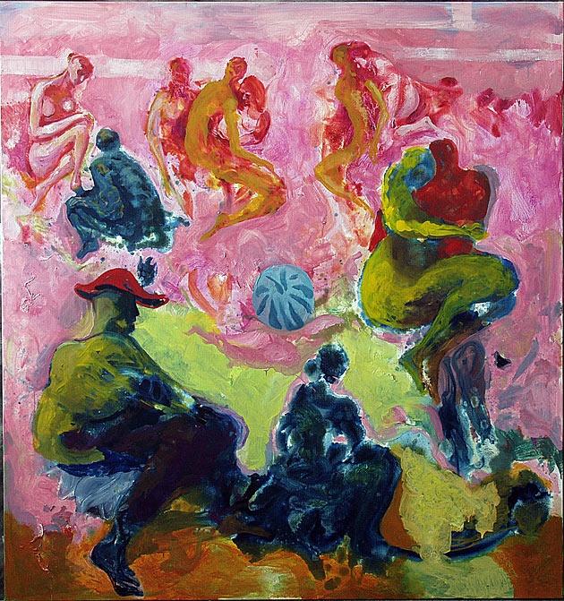 Håkon Bleken.    Dette bildet gir meg assosiasjoner til fauvismen og Matisse. Fantastisk fin fargebruk.
