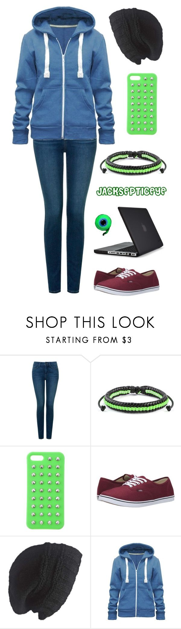 """Jacksepticeye Outfit"" by oagraci ❤ liked on Polyvore featuring NYDJ, West Coast Jewelry, 4WE, Vans, Laundromat and Speck"