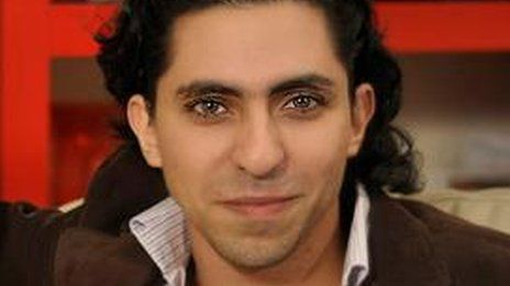 A Saudi Arabian blogger has been publicly flogged after being convicted of cybercrime and insulting Islam, reports say.