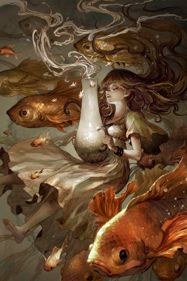 Surreal and beautiful > The Fish by Kyoung Hwan Kim # ...