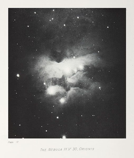 [][][] The Nebula H.V. 30, Orionis  Keeler, James Edward, b.1857 - 1900