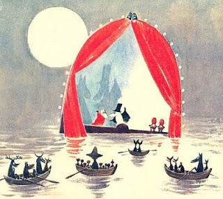 "Not only for children, Tove Larsons ""Moomin"" novels. Quite dark and melancholic, with amazing illustrations! Read them all!"