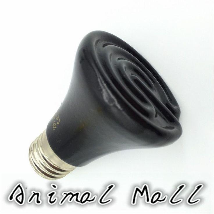 1 Pcs Mini Reptile Supplies Ceramic Heating Lamp Climb Pet Heating Lamp Far Infrared Ceramic Lamp Turtle Heating Lamp