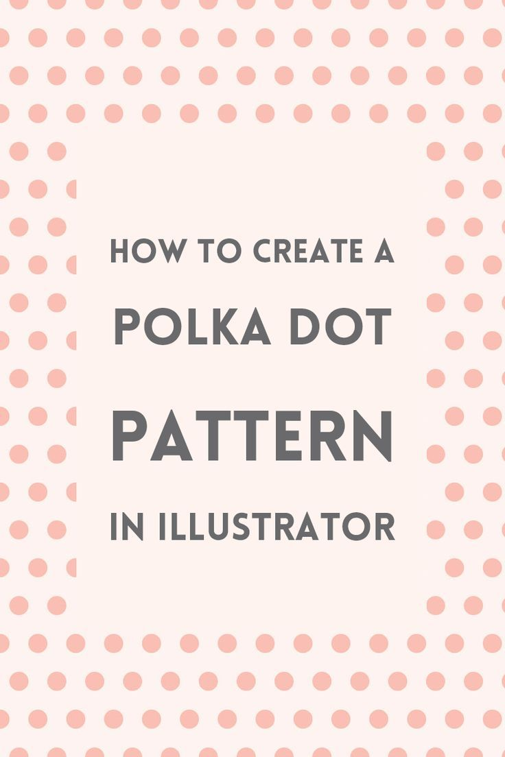 Learn how to create a polka dot pattern in Illustrator using the pattern maker tool. You can use the pattern on your artworks or for your blog's graphics.