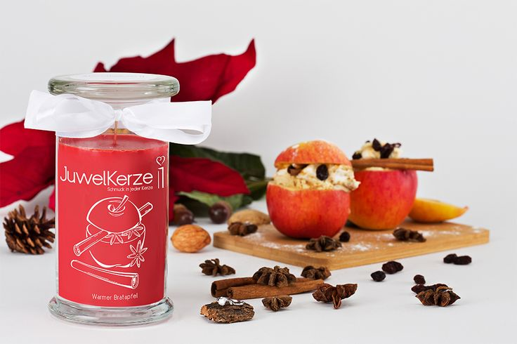 Julia- Duftkerze - Warmer Bratapfel