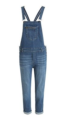 Esprit / Tuinbroek van stretchy denim