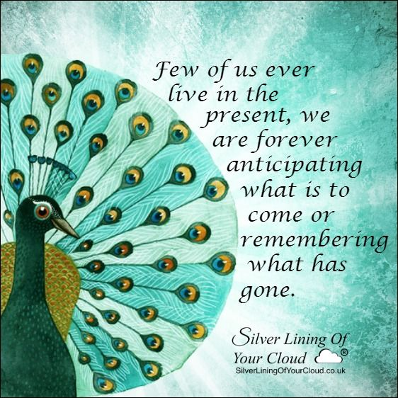 Few of us ever live in the present, we are forever anticipating what is to come or remembering what has gone. -Louis LArmor..._More fantastic quotes on: https://www.facebook.com/SilverLiningOfYourCloud  _Follow my Quote Blog on: http://silverliningofyourcloud.wordpress.com/