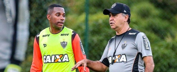 Robinho Marcelo Oliveira Atlético-MG Flamengo (Foto: Bruno Cantini/ Flickr Atlético-MG)