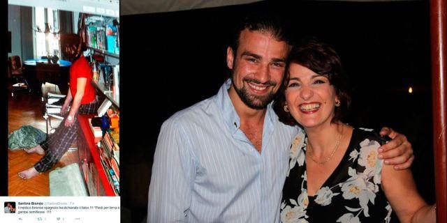 La madre de Mario Biondo publica la imagen de su hijo muerto