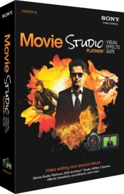 Bureau en Gros® a tout ce qu'il vous faut : Sony® – Suite de production Movie Studio Platinum Visual Effects Suite 2. Profitez de la livraison GRATUITE sur les commandes de plus de 45 $.