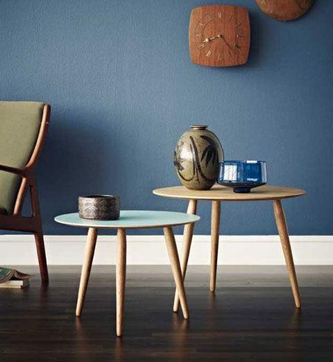 Lille skønt, rundt bord. Bordet er ideelt i moderne indretning. #bruunmunch #design #danskdesign #indretning