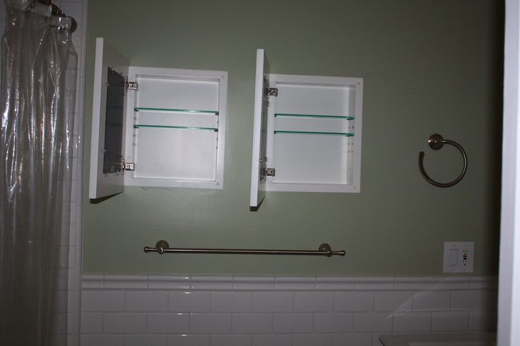 54 best images about between the studs on pinterest for Bathroom picture frame ideas