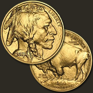 1 Troy ounce Buffalo goud 2013