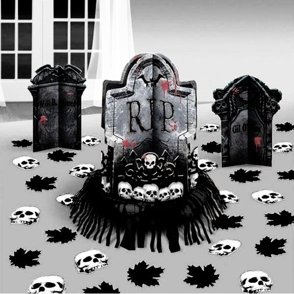 table decoration kit halloween decorations each