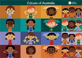 Poster - Colours of Australia
