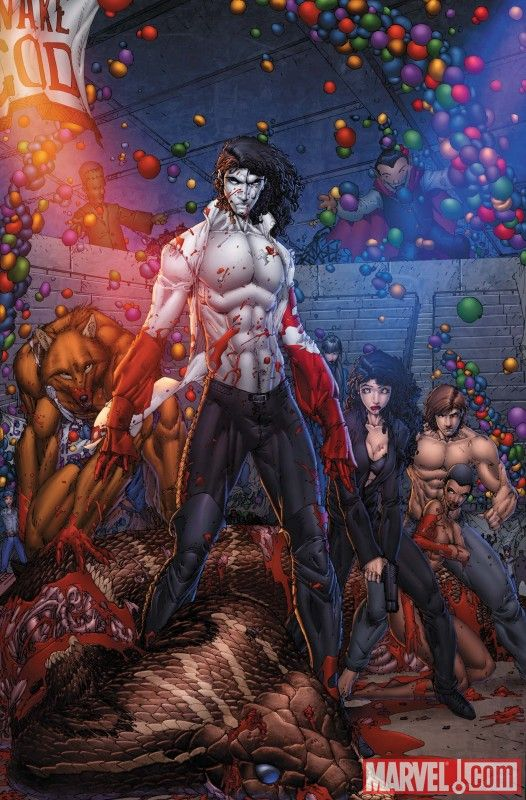 Anita Blake, Vampire Hunter: Circus Of The Damned: the Charmer (Graphic Novel #4)