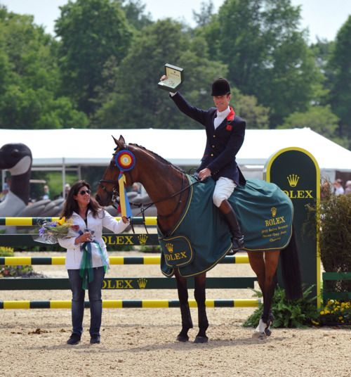 Congrats to William Fox-Pitt, Parklane Hawk, and Catherine Witt on their win at Rolex this year…