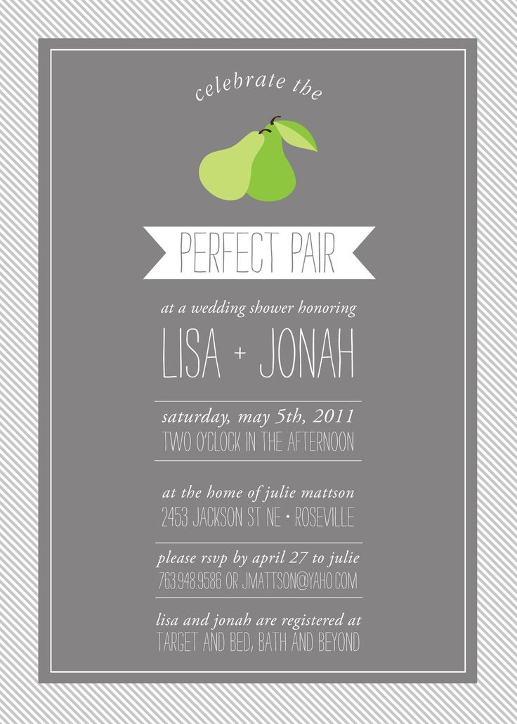 The 25 Best Couples Shower Invitations Ideas On Pinterest