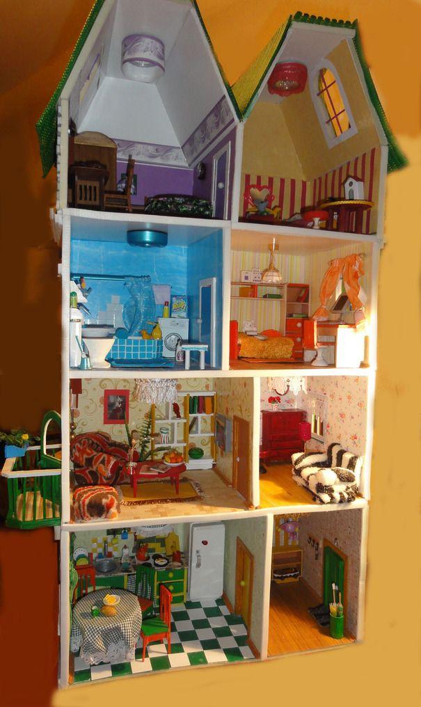 Ручная работа Кукольный домик