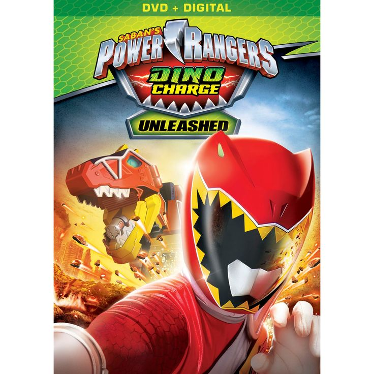Power Rangers Dino Charge: Unleashed (Dvd)