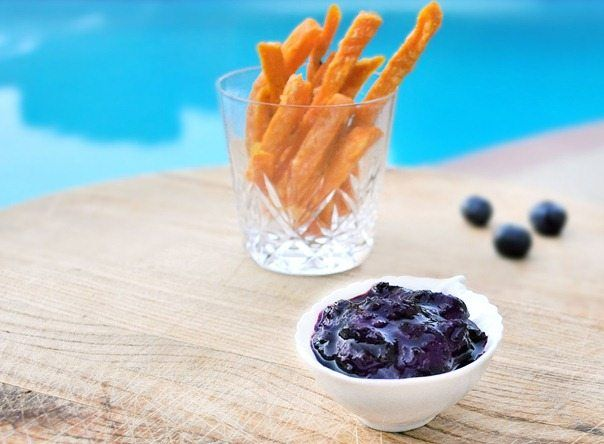 blueberry ketchup