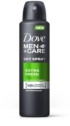 Dove Men+Care Extra Fresh Dry Spray Antiperspirant 3.8 oz - CVS.com