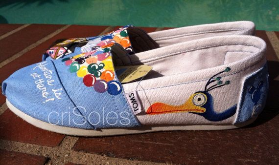 Adult Size Disney UP Inspired TOMS by criSoles on Etsy