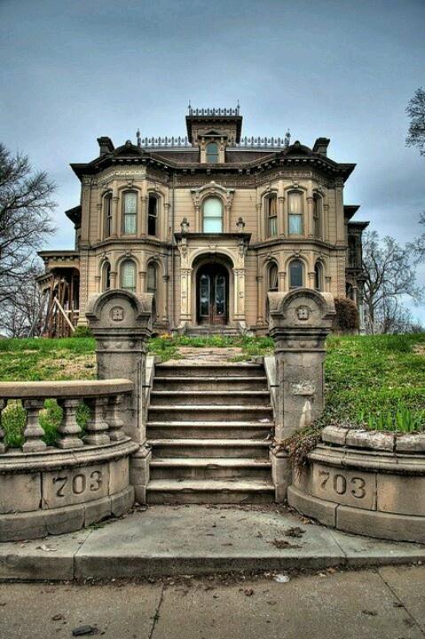 This is my freakin DREAM HOUSE!!  -703 Hall St.  Saint Joseph, MO, 64501      (Zillow.com)