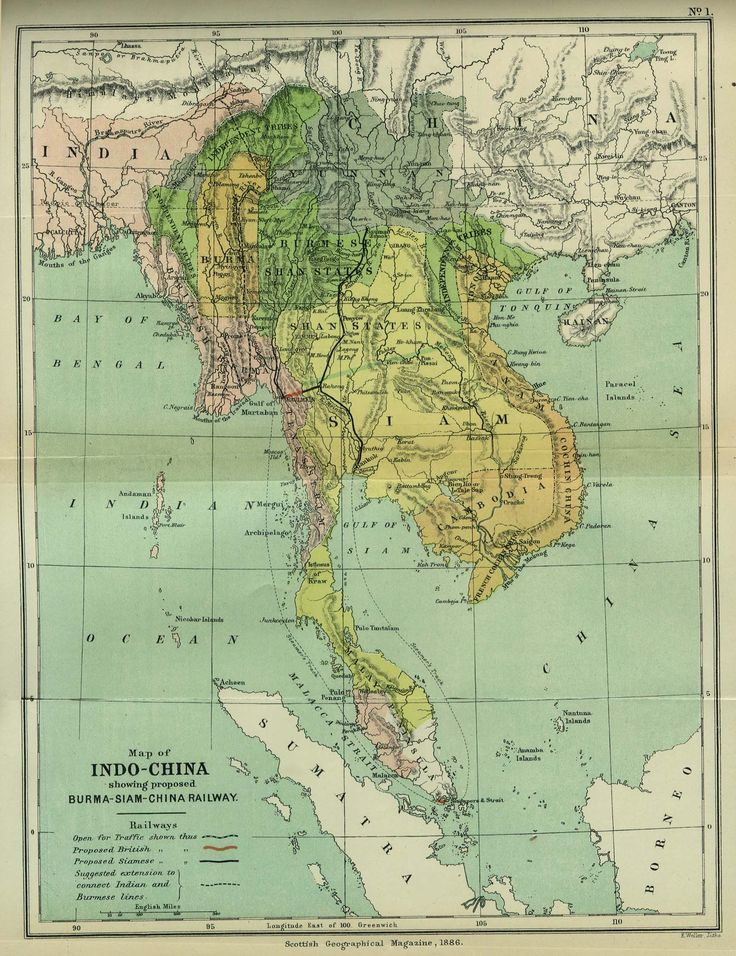 18 best screen print maps images on pinterest cards maps and map of the southeast asian mainland in 1886 publicscrutiny Image collections