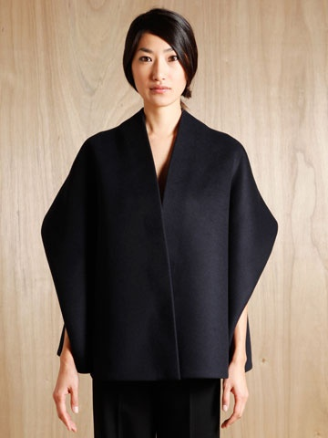Tze Goh Women's Cashmere Cape Jacket