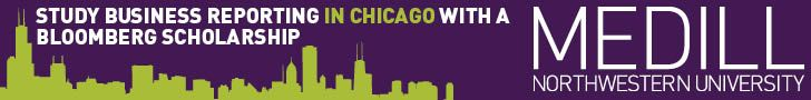 Study Business Reporting in Chicago with a Bloomberg Scholarship - Medill Northwestern University