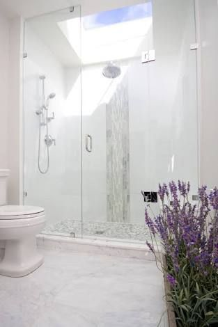 Image result for award winning bathrooms with a skylight