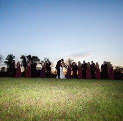 #anthonyslakeside #bridalparty #eveningphoto #wedding #justmarried