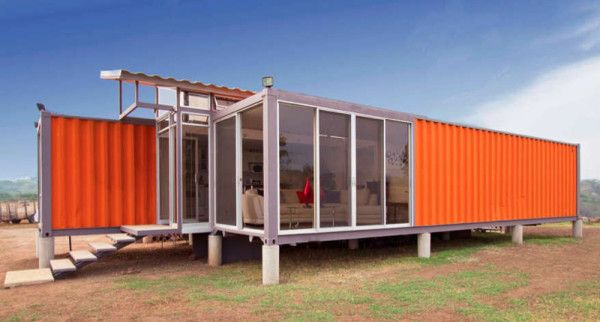 12 Homes Made From Shipping Containers in interior design architecture  Category