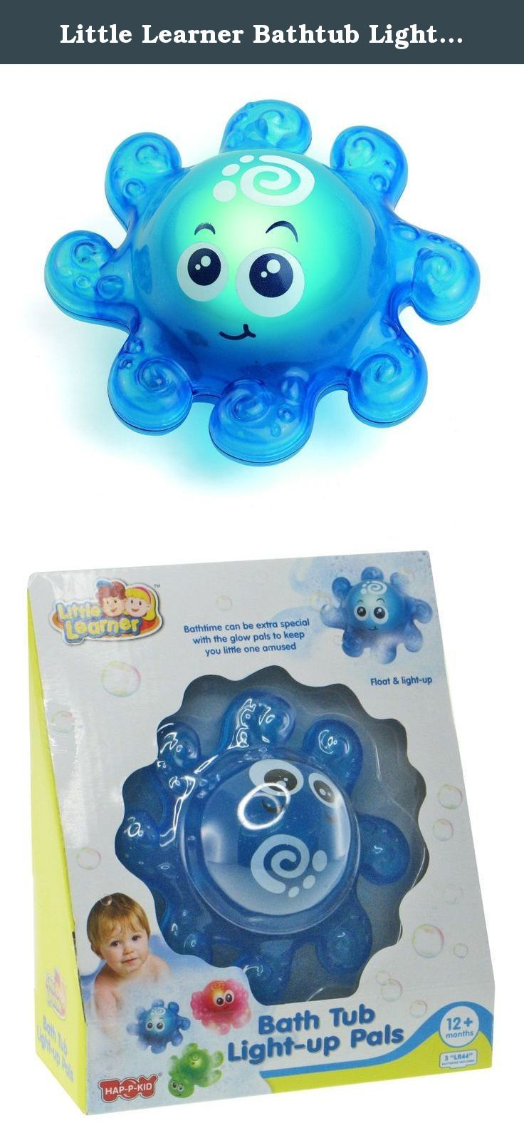 Little Learner Bathtub Light Up Octopus. These Charming Bath Tub Pals Will  Delight All Who Meet Them. The Smiling Octopus And Turtle Float, Light Uu2026