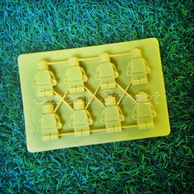 Молд для мастики и шоколада Лего человечки