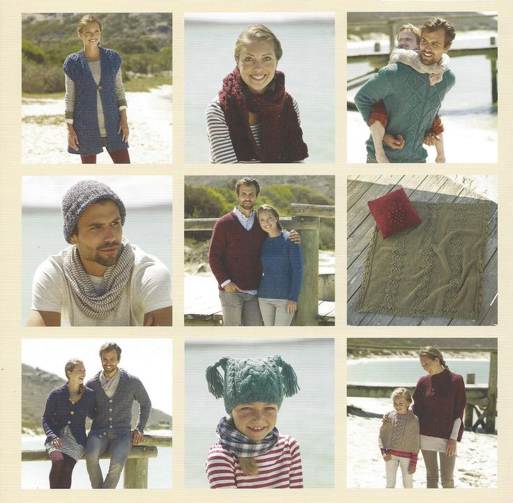 Sirdar Book 505 Harrap Tweed Chunky (#5) Weight Yarn-18 Hand Knit Designs for all the family