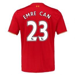 15-16 Liverpool Football Shirt Cheap Home EMRE CAN #23 Soccer [PF15712875]